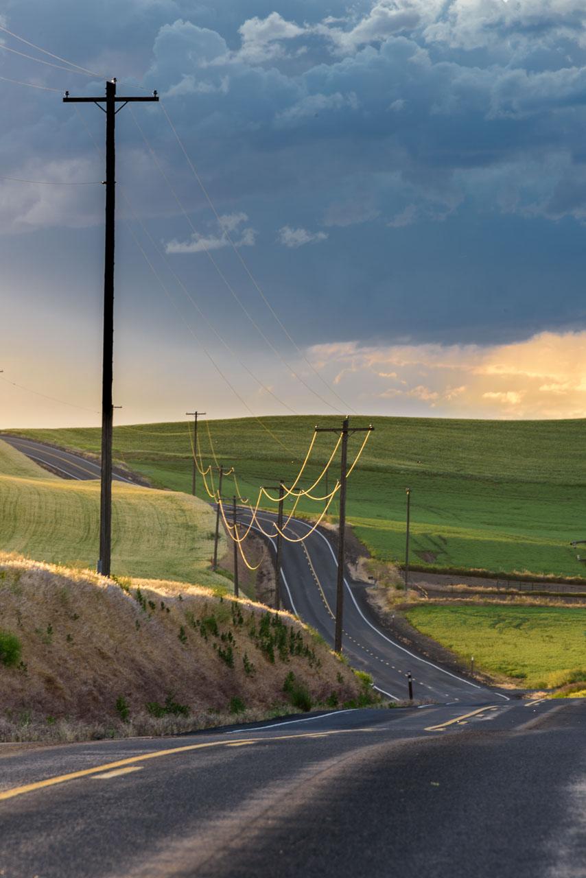 Barbee_150623_0521 |  Along Hwy 27 outside Colfax, WA at sunrise. | Palouse