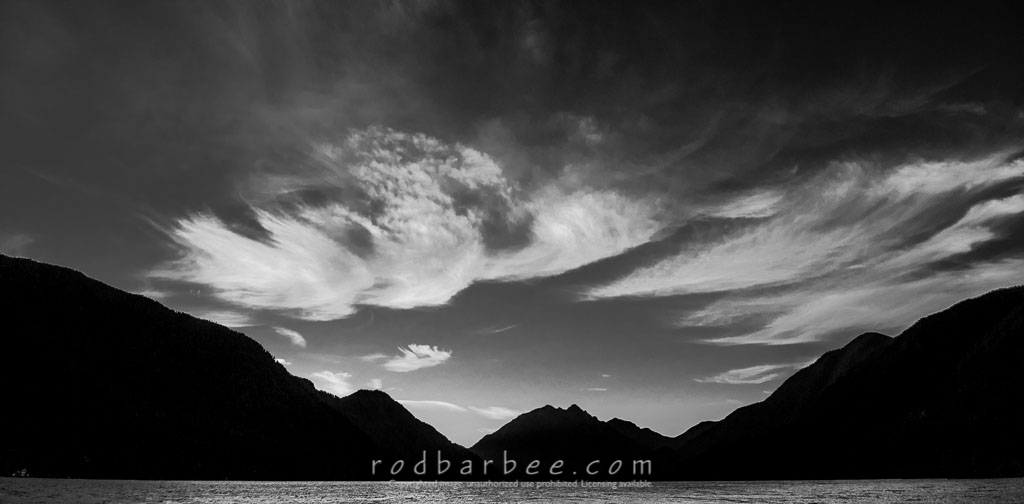 Barbee_140717_3_5663 | Pre-dawn on Lake Crescent, Olympic National Park, WA